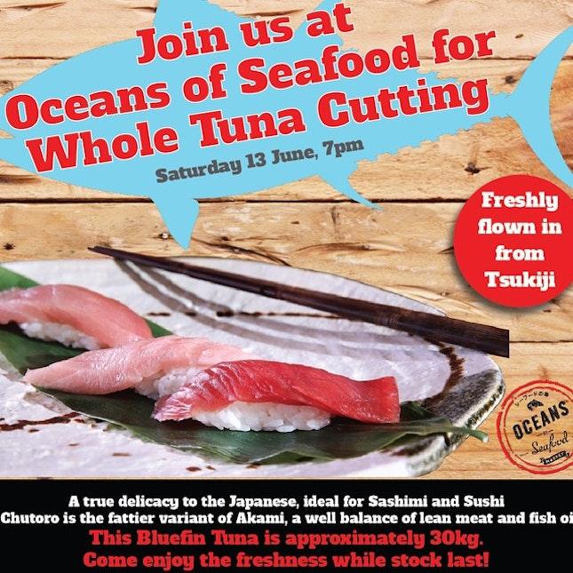Tuna Cutting is such a dynamic feat.