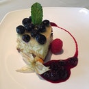 Blueberry cheesecake #burpple #dessert