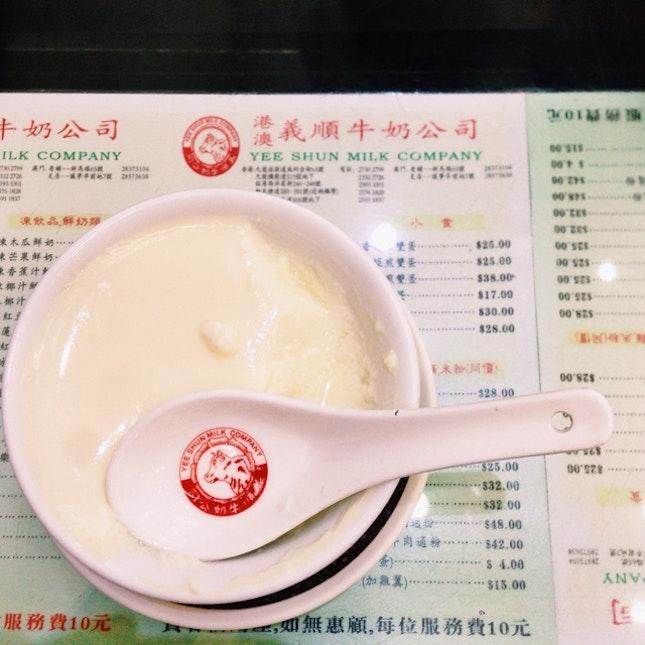 Steamed Milk Pudding