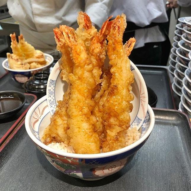 Didn't know can order only ebi tempura.