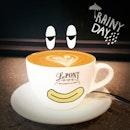 I like coffee on rainy days 😁
