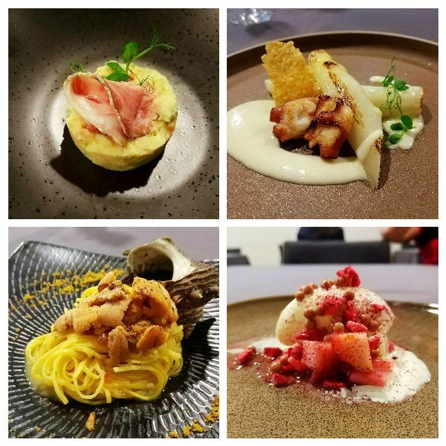 4 Course Lunch $68++