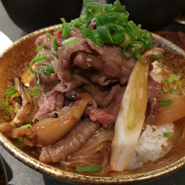 Beef Sukiyaki Don (wagyu $29.90++)
