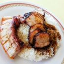 Char Siew Roast Pork Rice ($5)