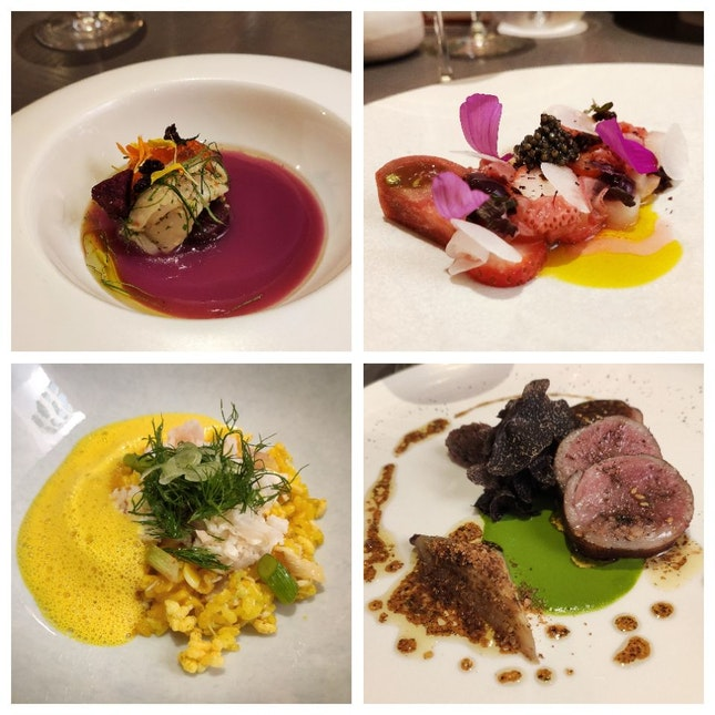 5 Course Lunch ($148++)