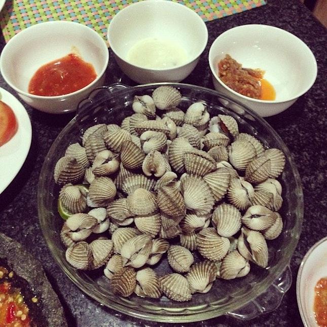 Kerang Rebus #food