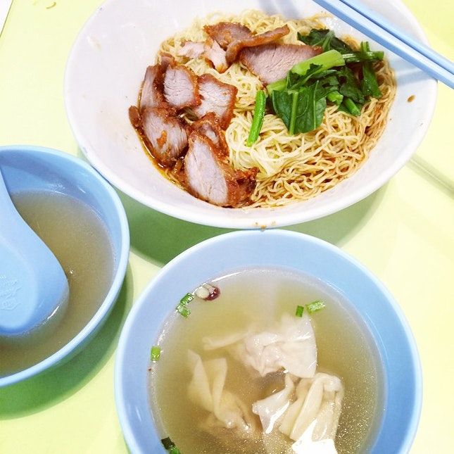 Time and again, we come back for fabulous wanton noodles!!