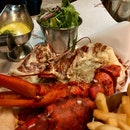 Burger and Lobster of course at Burger & Lobster, Genting.