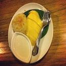 Khao neaw ma muang (Mango with sticky rice) #thai #yum #instafood