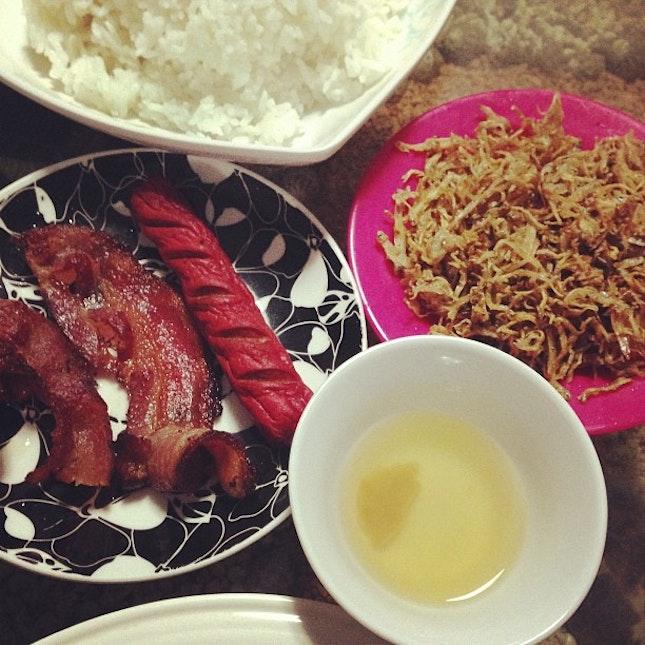 Happy Breakfast Buwad Bacon Hotdog Food Foodporn Cebu Pinoy