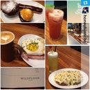 #Repost from @honeyblanche with @repostapp #wildflourcafe #breakfast