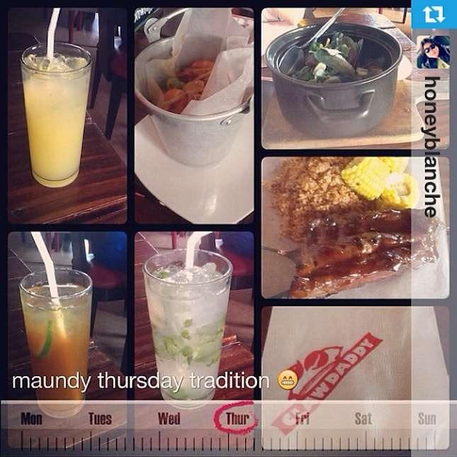 #Repost from @honeyblanche with @repostapp --- 🍤🍴#lunch with @hazelbeverly08