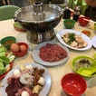 Steamboat With Chicken Rice And Satay