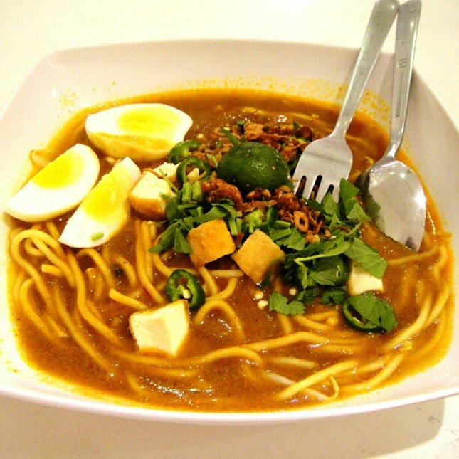Mee Rebus for breakfast today.