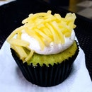Pandan Kaya with Cheese Cupcake.