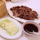 Signature item from here is this Crispy Duck wrap.