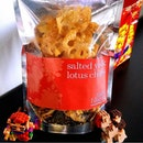 Got a pack of Salted Egg Lotus Chips for CNY.