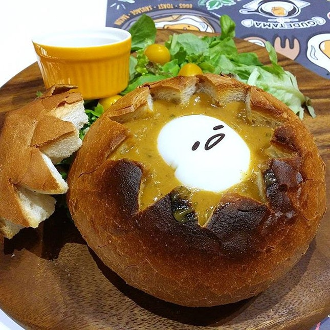 I like this Lobster Onsen bread bowl!