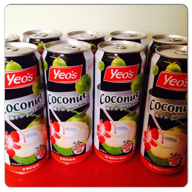 Stock up my favourite drink  @igsg @instagram #igfood #igfood #sgfoodies #instafood #instagram #instacollage #yeos #coconut #coconutdrink