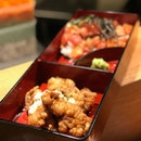 Chicken Nanban & Kaisen Don Barachirashi  #hanahanajapaneserestaurant #kaisendon #barachirashi #chickennanban #lunchbento #japanesecuisine #yummy #yummyfood #igsg #igsgfood @igsg #igsgfoodies #shashimilovers #shashimi @burpple #burpple #burpplesg #instafood #instagramfoodies #instagramfood