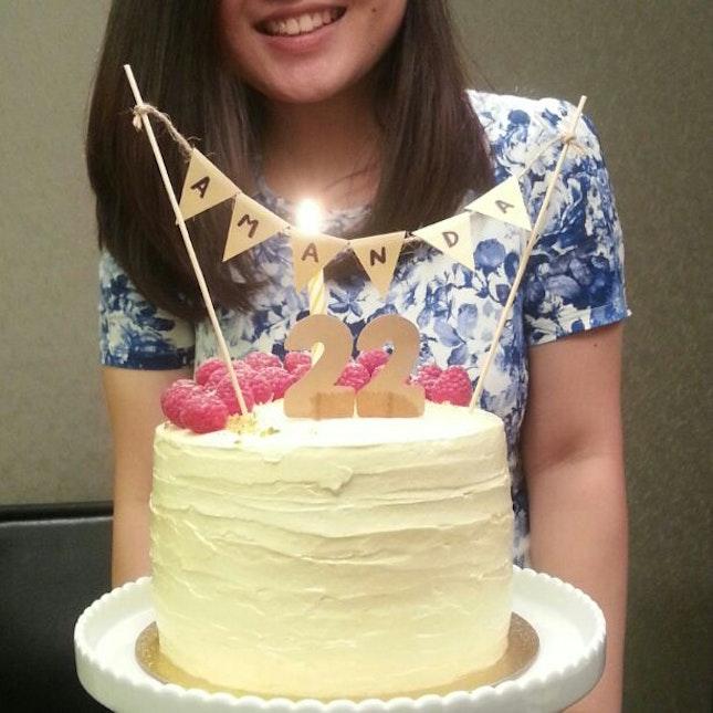 My 22nd Birthday Cake