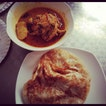 Roti Prata and Curry Chicken for brunch!