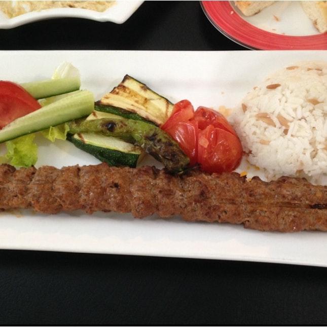 Adana Kebap - Mix Lamb & Beef