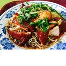 Soya Sauce Chicken Drumstick Noodle