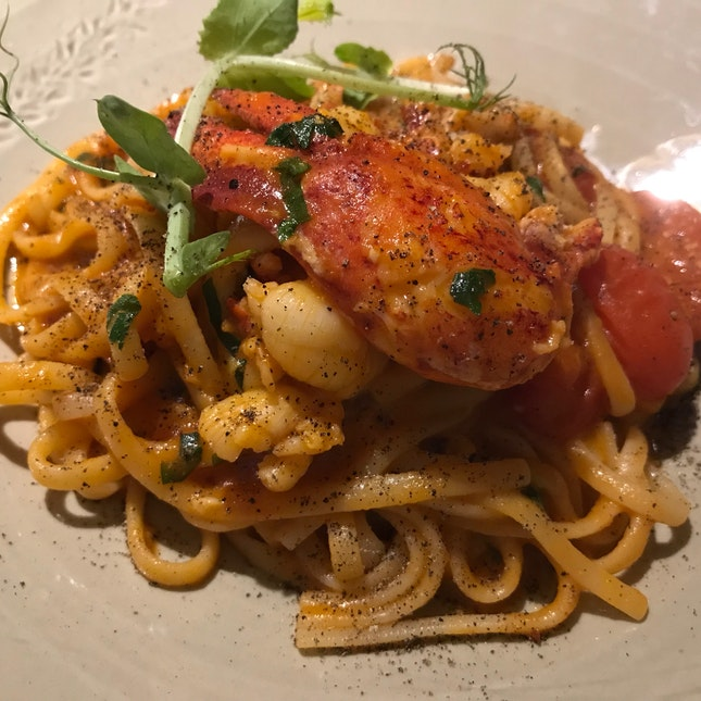 Linguine With Boston Lobster