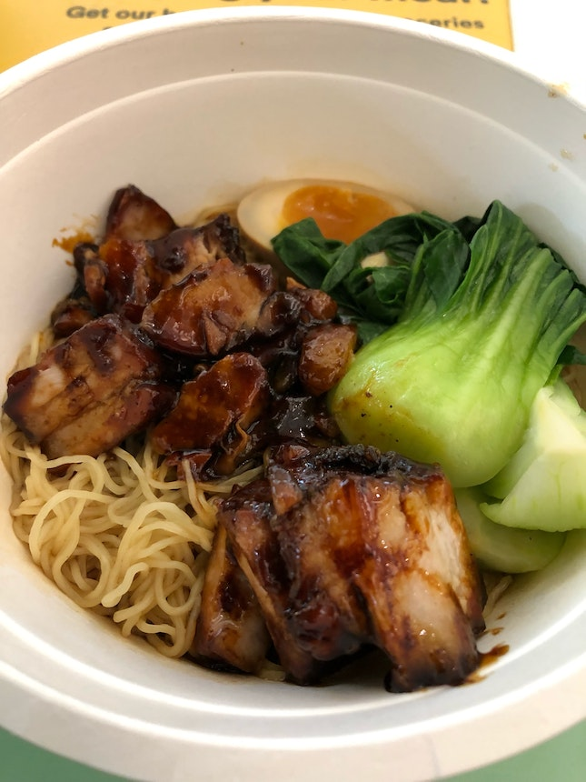 Char Siew Noodle By Char