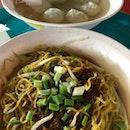 Hong Xing Handmade Fishball • Meatball Noodle (Bukit Merah View Market & Hawker Centre)