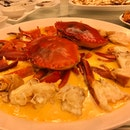 Steamed Crab With Chinese Wine