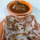 Plain Prata With Chicken Drumstick Curry