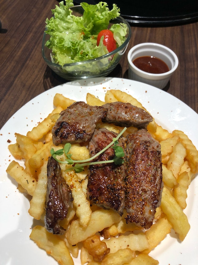 Beef and Chips