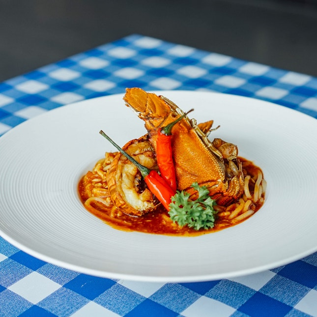 Chilli Crab Crayfish Spaghetti, A Must For Spice Lovers