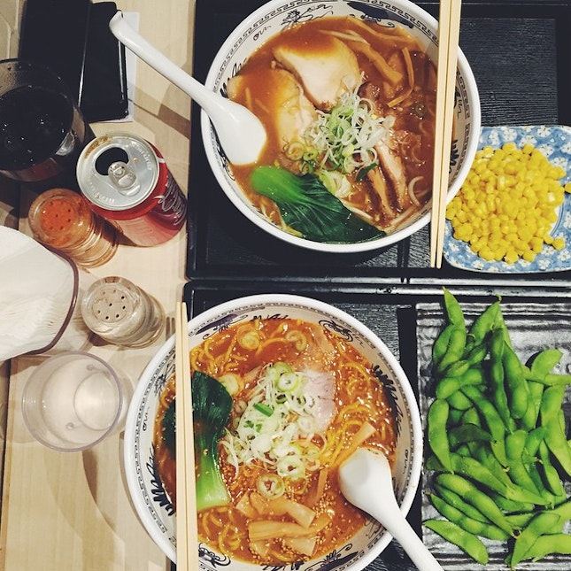 🍜 Love it when I unexpectedly stumble upon really yummy food 🍜
