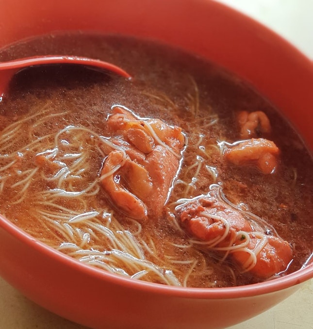 Red Wine Chicken Mee Sua