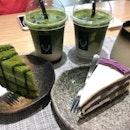 Hojicha Matcha Latte