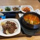 Kimchi Stew And Beef Bulgogi