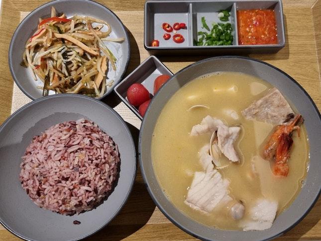 Seafood Soup Set