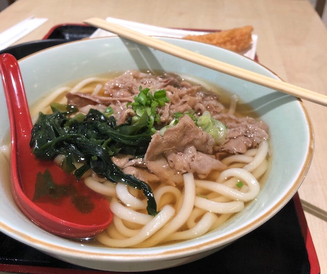 Beef Udon ($8.90)