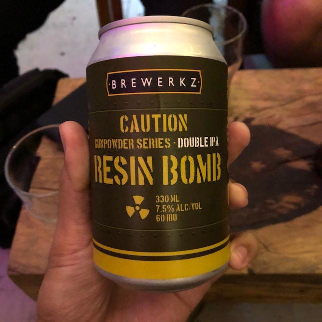 Brewerkz Gunpowder Resin Bomb ($16)