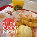 Having $7.40 Combo 3pcs Tender Sjora as my #supper ….