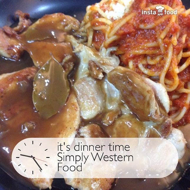 6 spaghetti chicken chop as my dinner burpple 6 spaghetti chicken chop as my dinner forumfinder Images