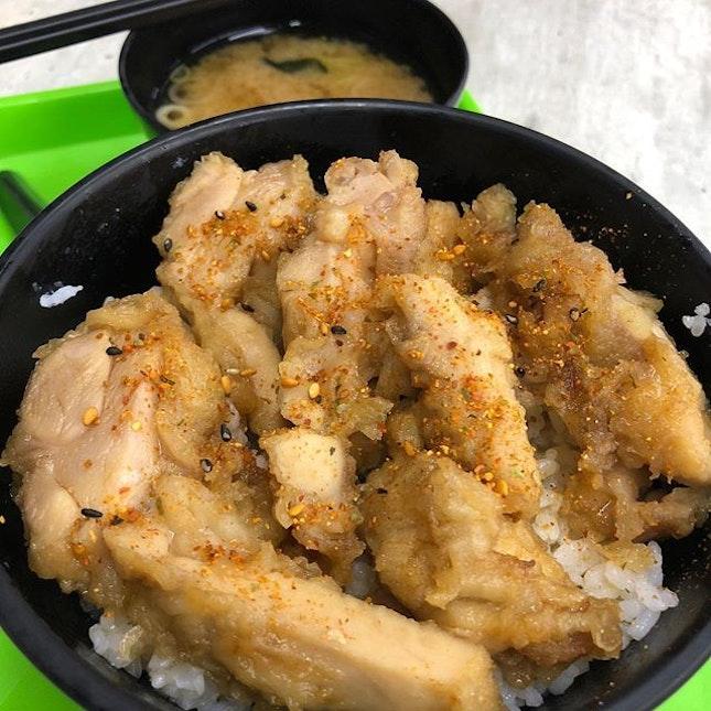 Having #ChickenTeriyakiDon as my #dinner #burpple