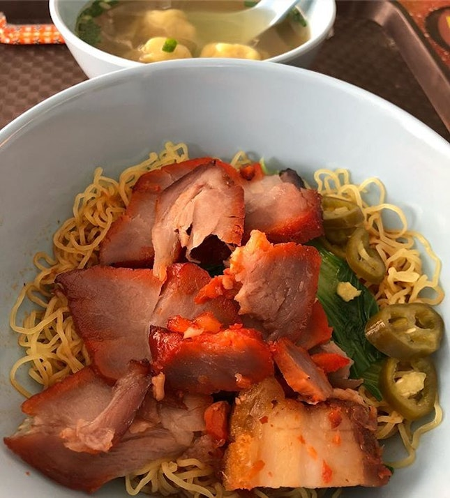 Having #WantonNoodle as my humble #lunch.