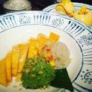 Great Thai desserts.