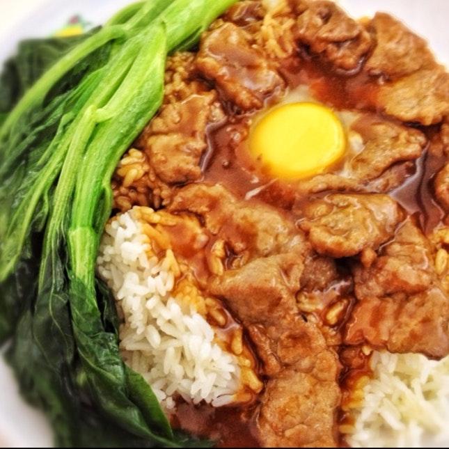 Beef Egg Rice