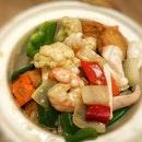 Claypot Seafood Beancurd