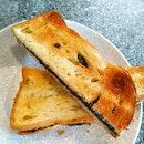Black Sesame Toast Bread